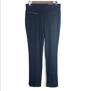 RAFAELLA Leggings Black Ponte Knit Slim Leg